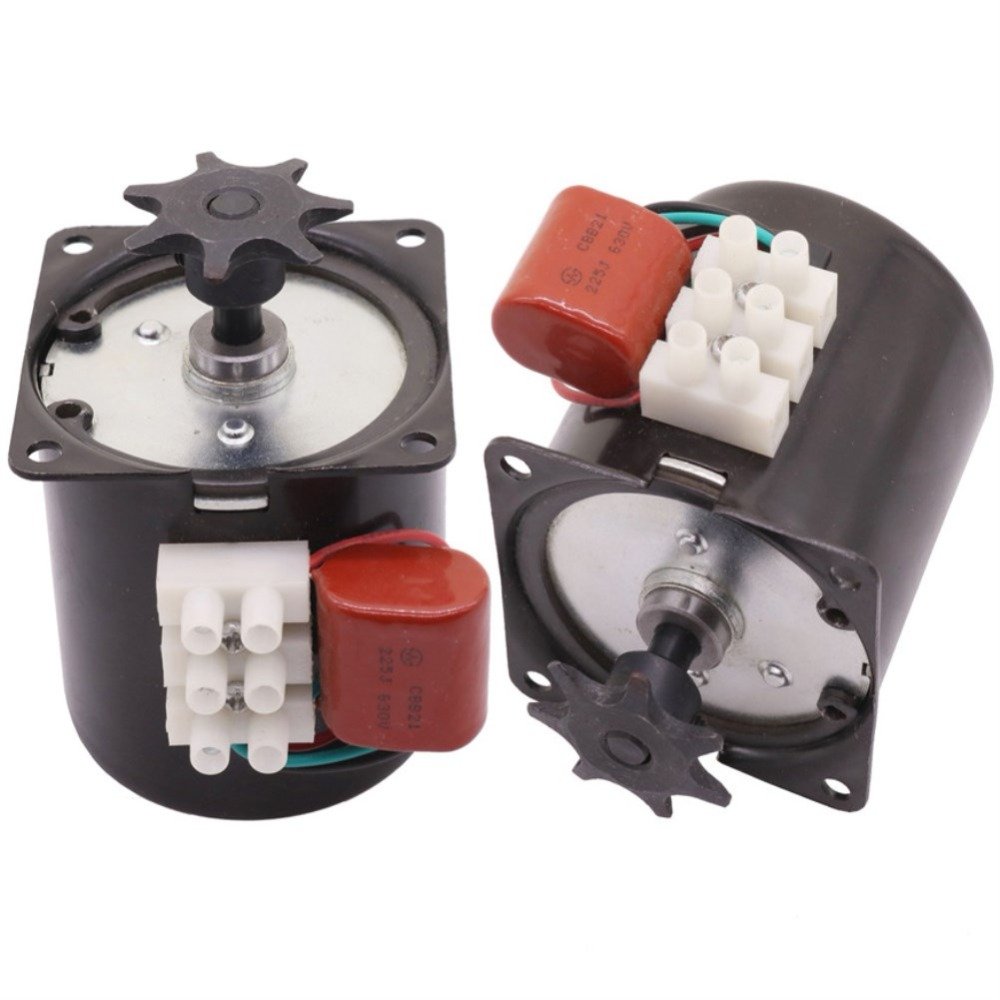 1 PCS 220V OR 110V Turn Egg Motor 60KTYZ Claw Pole Permanent Magnet Synchronous Motor Can Choose Chicken Incubator Accessories1 PCS 220V OR 110V Turn Egg Motor 60KTYZ Claw Pole Permanent Magnet Synchronous Motor Can Choose Chicken Incubator Accessories