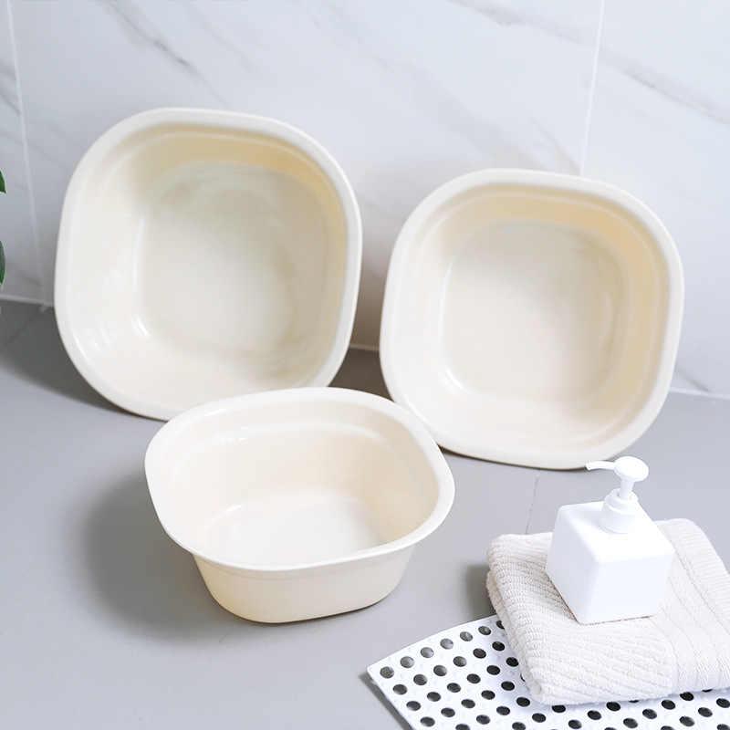 日本のシンプルな洗浄ポット家庭用肥厚プラスチック洗浄ベビーポット