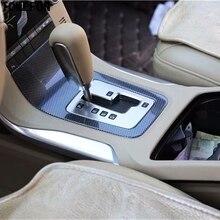 TOMEFON для Volvo S80 2009 до 2011 ABS специальная углеродная волоконная краска внутренняя передняя крышка переключения передач декоративная панель отделка