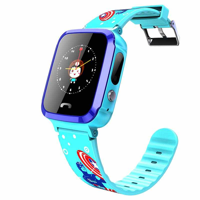 V59 Child baby LBS Smart Watch with Camera IP67 Waterproof Flashlight SOS Call Location Touch Screen Anti-Lost Monitor Tracker