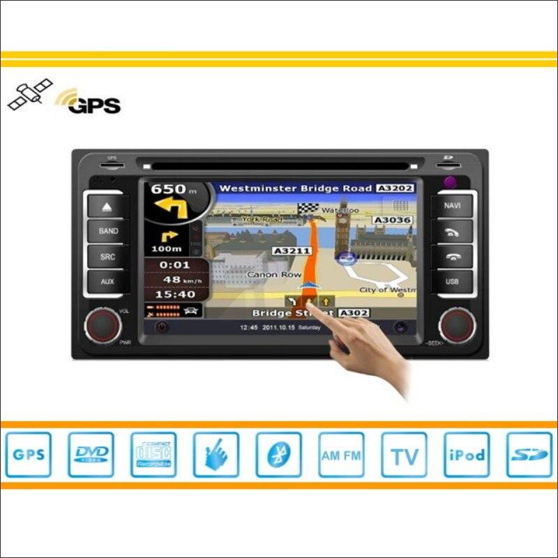 Para Toyota Hilux Vigo 2005 ~ 2011 Coches Reproductor de DVD de Navegación GPS R