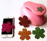 Super Large 3 75mm Cherry Blossoms Design DIY Craft Punch EVA Creative Embosser Device Punch