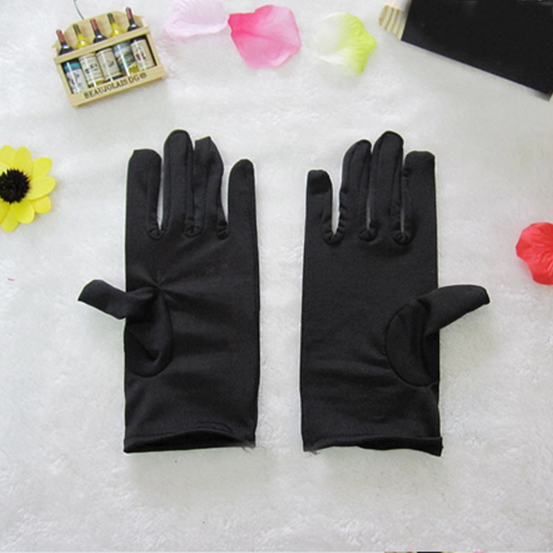 2018 Strech Gloves Opera Dance Work Wrist Gloves Adult Kids Childrens Day Performance Props Wedding Prom Party Decoration