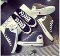 Весной 2017 новых высоких помощь MS panda холст обувь досуг плоские студенты обувь одного