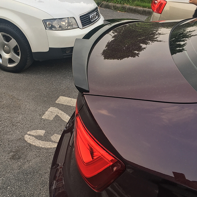 For Audi A3 Spoiler S3 The v model Audi A3 ABS Material Car Rear Wing Primer Color Rear Spoiler For Audi A3 Spoiler 2014 2017