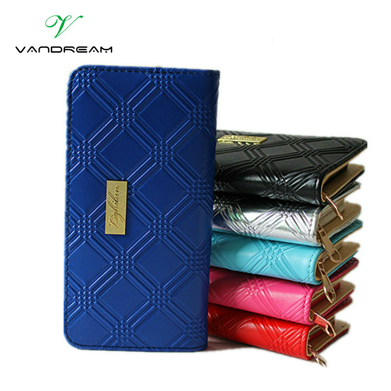 Can Be Tracked 2016 Designer New Fashion Women Wallets Famous Luxury Brand Clutches Pu Leather Lady Purse Long Black Red Handbag yuanyu 2018 new hot free shipping pearl fish skin long women clutches euramerican fashion leisure female clutches