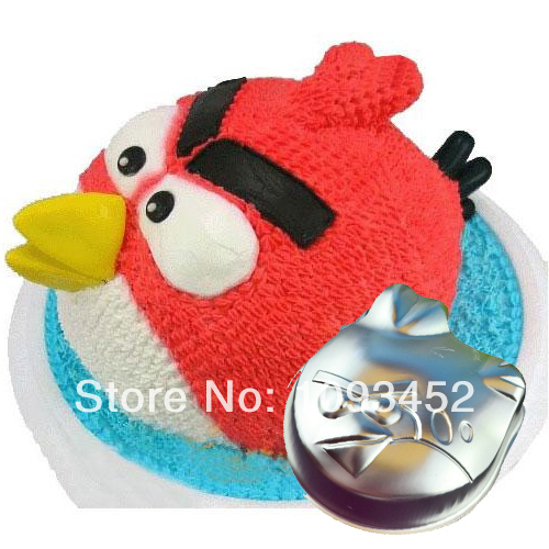 Cartoon Bird Shaped Cake Pan Tin Decoration Tool Metal Mould Baking Kids Birthday Party On Aliexpress