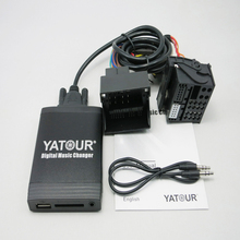 New Yatour for Opel Astra H Astra J corsa zafira vectra Car Mp3 Player USB Adapter SD AUX bluetooth interface Audio Radio Yt-m06