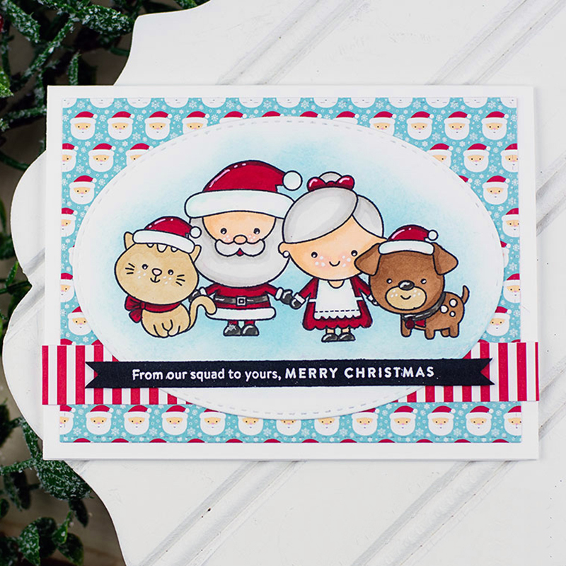 c0f256361 CH CHRISTMAS SQUAD Metal Cutting Dies and stamps DIY Scrapbooking Card  Stencil Paper Cards Album Decoration Embossing Folder-in Cutting Dies from  Home ...