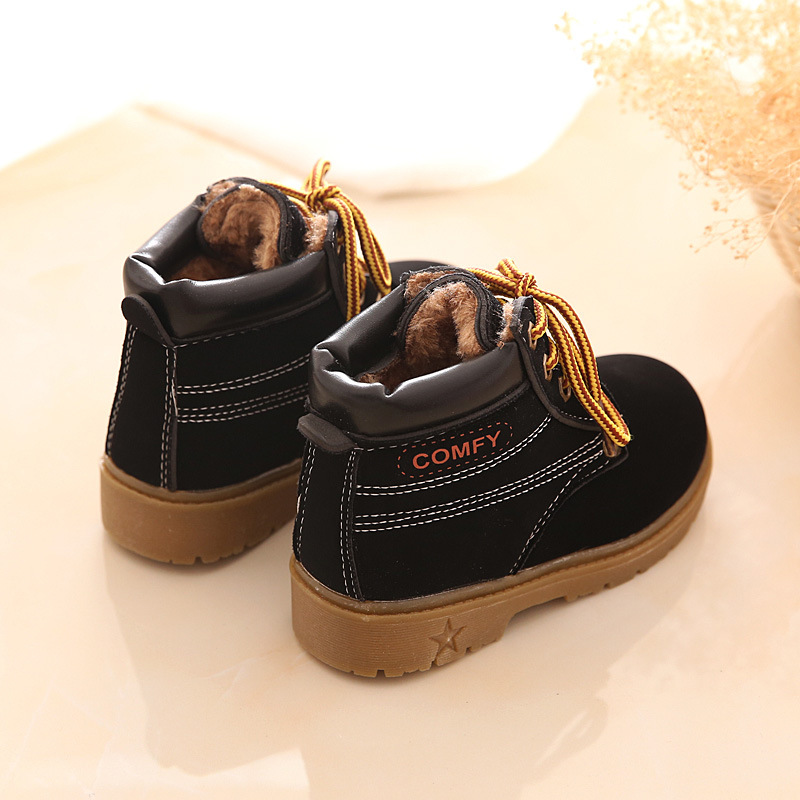 Mother & Kids ... Baby Shoes ... 32512053186 ... 2 ... New Fashion Winter Baby Boots Boys And Girls Calzado Botas Ninas 2015 Infant Girl Winter Leather Boots Baby Warm Snow Boots ...