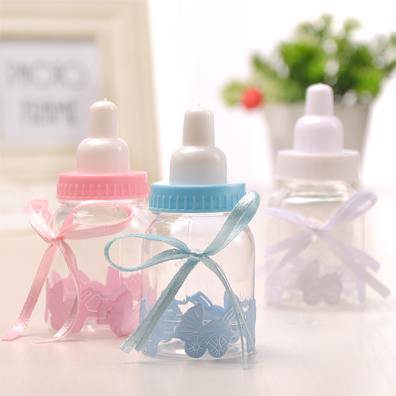 48pcslot Baby Bottle Candy Box Party Supplies