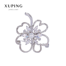 Xuping Elegant Synthetic CZ Diverse Styles Pearl Brooch for Mother's day Gift 2017 New 00086-11#