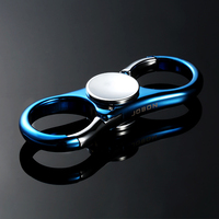 Pop Fidget Spinner Hand Spinner Metal EDC Blue Figet Spiner Multifunction Car Key Chain Pendant Key