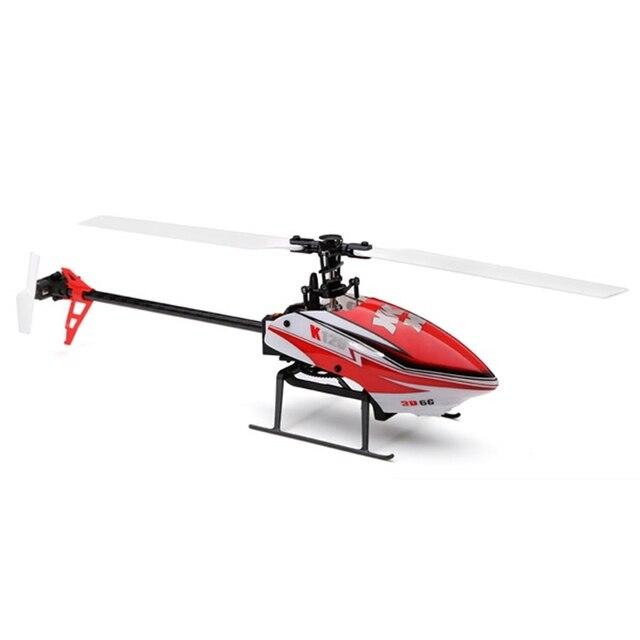 XK K120 Трансфер 6-КАНАЛЬНЫЙ Бесщеточный 3D6G Система RC Вертолет RTF