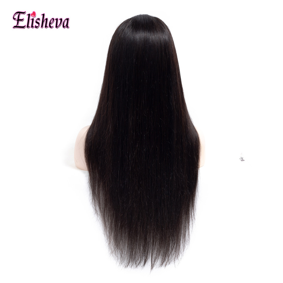 Elisheva Straight 360 Lace Frontal Wig Pre Plucked with Baby Hair Peruvian Hair Lace Frontal 360