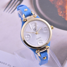 Mini moda Mujeres Relojes Señoras Reloj de Cuarzo Correa de Cuero Casual Reloj Mujer montre femme relojes mujer 2017