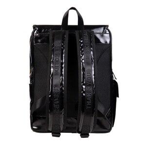 Image 2 - 2019 Originele black waterdichte grote rugzakken schooltassen voor tieners 15.6inch laptop tassen in POSE serie 2 (FUN KIK)
