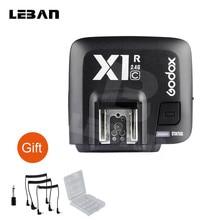 Godox X1R C 2.4g ttl 무선 원격 제어 트리거 X1 C 카메라 플래시 트리거 캐논 카메라 1000d 700d 650d (수신기 전용)