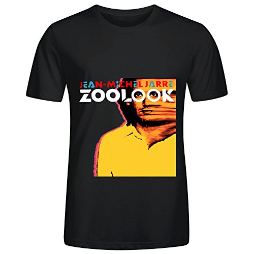 Jean Michel Jarre Zoolook Soundtrack Men O Neck Screen Printed ShirtsSummer Short Sleeves T-Shirt Fashion