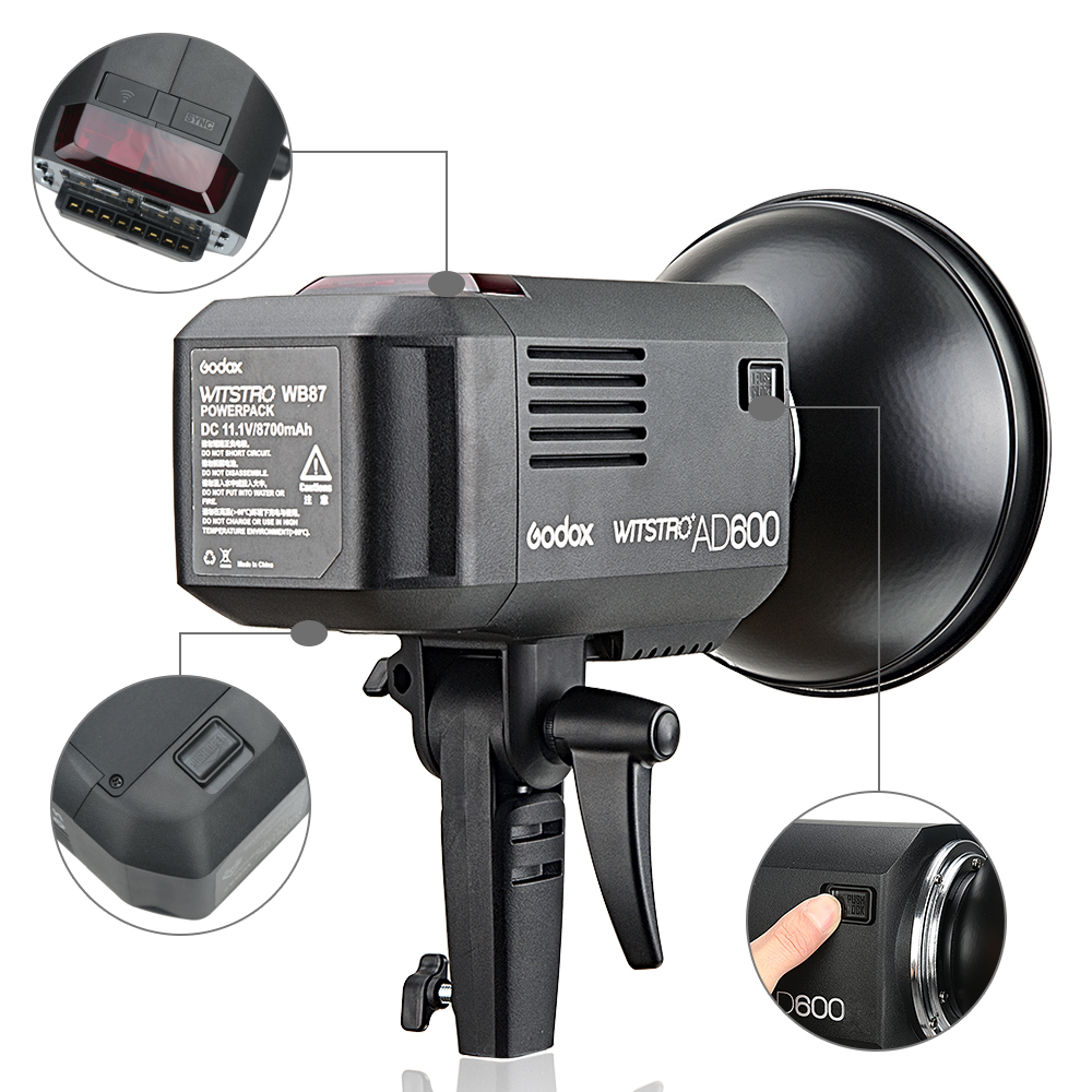 Νέα Άφιξη Godox 2.4G ασύρματο σύστημα X AD600 - Κάμερα και φωτογραφία - Φωτογραφία 6