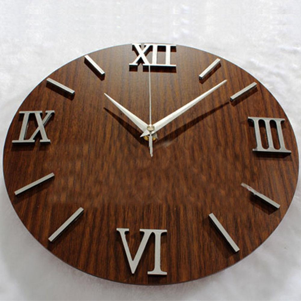 popular designer clock promotionshop for promotional popular  - d roman numeral simple design popular european wall clock creative roundvintage wall clock silent nontickingwall clock