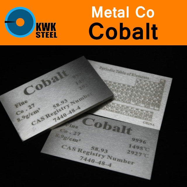 Co Cobalt Cube Plate Sheet Coin Block High Pure 99.96% Periodic Table of Metal Elements for Research Study Education Collection tungsten sheet plate for scientific research and experiment high purity