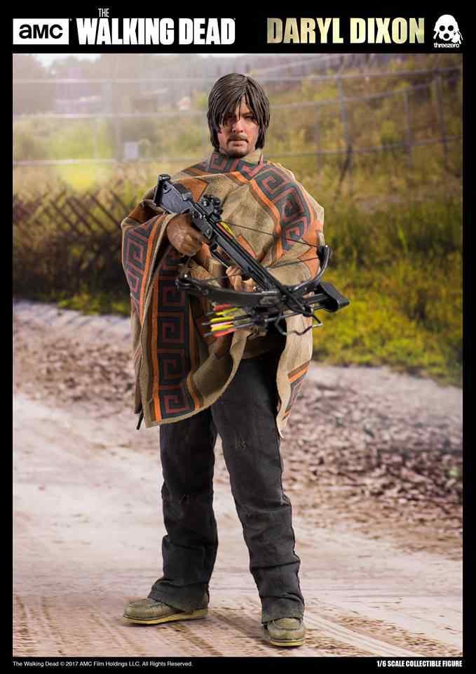 ThreeZero AMC The Walking Dead Daryl Dixon 1/6 Action Figure