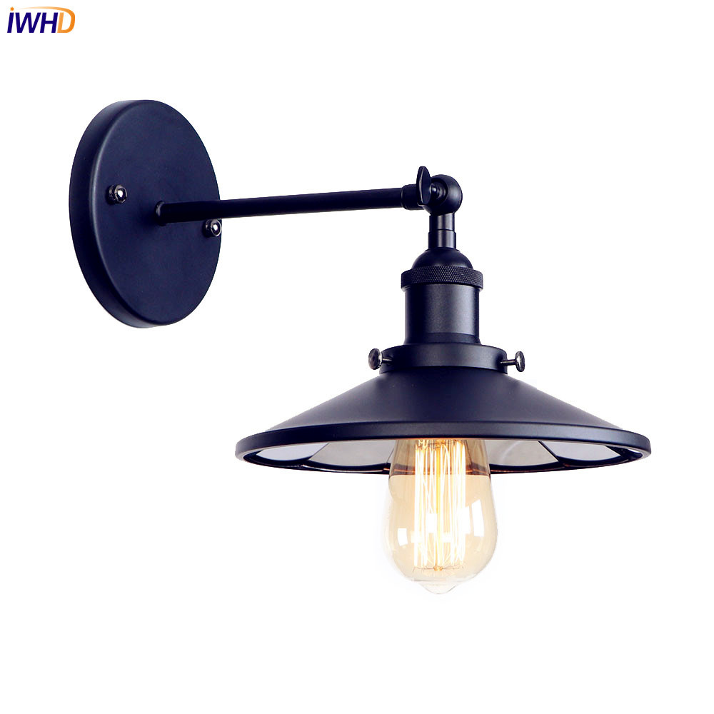 Lights & Lighting Led Lamps Iwhd Retro Vintage Led Wall Light Fixtures 2 Heads Loft Industrial Water Pipe Lamp Wall Sconce Wandlamp Luminaire Stair Lighting