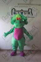Милый зеленый Детские Динозавров Талисмана ребенок боп костюмы