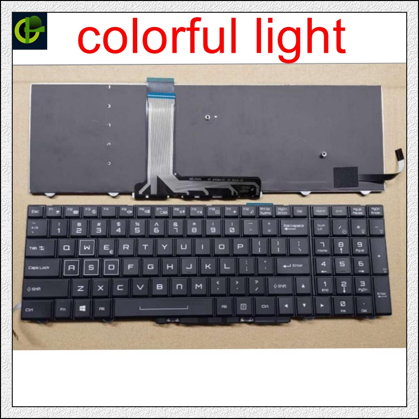 For, Keyboard, Colorful, English, ZM-G, Backlit