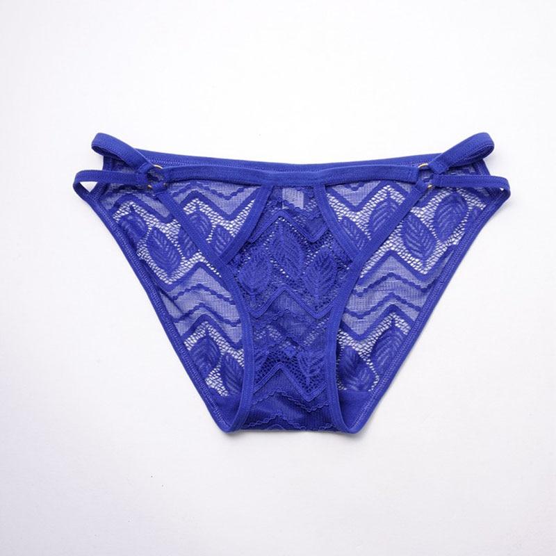 Buy QA210 Sexy lingerie thong seamless hollow briefs women transparent panties cotton crotch female g string tanga calcinha
