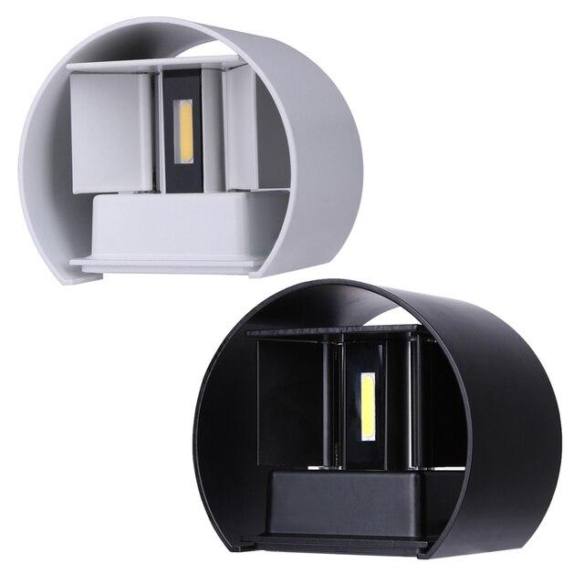 20 88 25 De Reduction Moderne Bref Cube Reglable Surface Monte 7 W Led Mur Lampe Exterieure Impermeable A L Eau Ip67 En Aluminium Appliques Murales