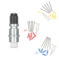 15PCS High Hardness Blades With Blade Holder Base Vinyl Cutter Plotter Cutting Blades Silhouette Cameo For