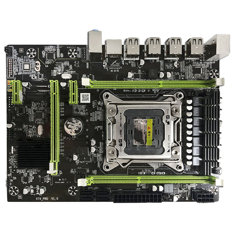 HOT-X79M Pro Motherboard Für Intel Lga 2011 E5 2640 2650 2660 2680 Ddr3 1333/1600/1866Mhz 32 gb M.2 Pci-E M-Atx Mainboard