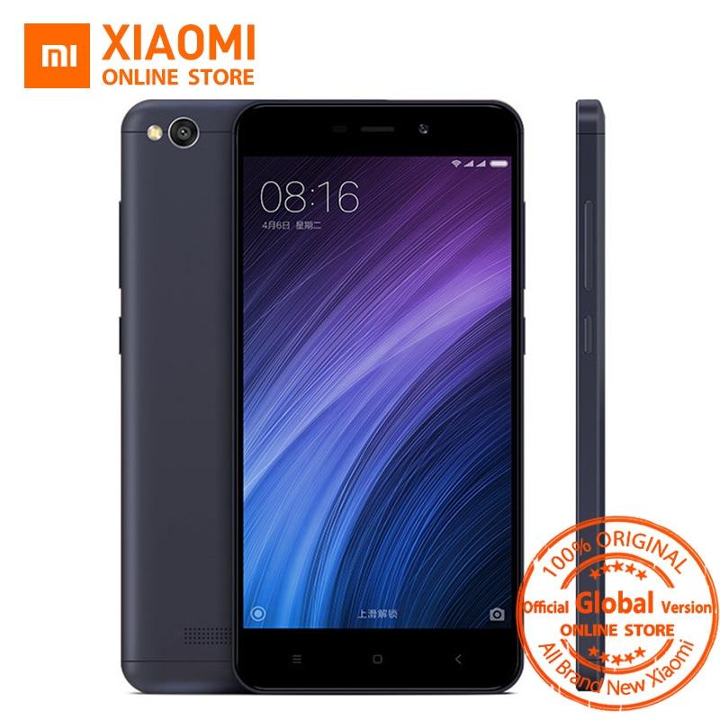 Global Vesion Xiaomi Redmi 4A 32GB ROM Mobile Phone Snapdragon 425 Quad Core CPU 2GB RAM 5.0 Inch 13.0MP camera 3120mAh Battery