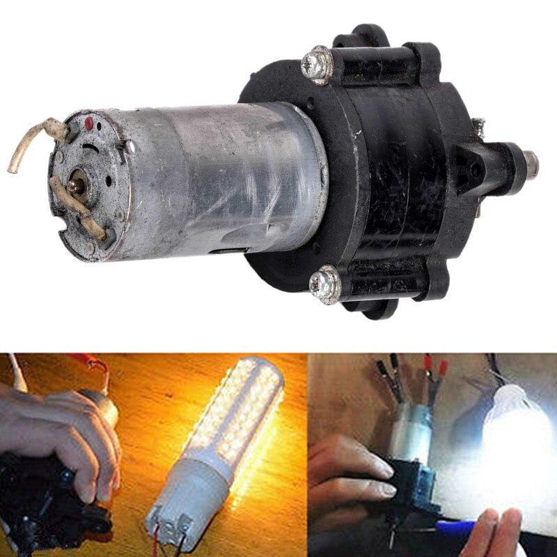 1 stück Wind DC Generator Hand Dynamo Hydraulische Test 5 v/6 v/12 v/24 v 1500mA 20 Watt Motor Für Elektrische Werkzeuge