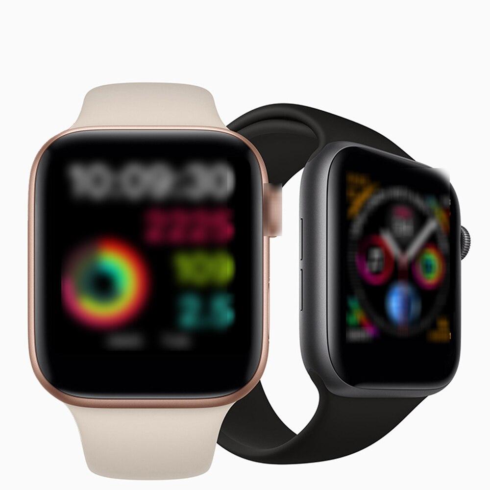 Reloj inteligente de serie 4 con Bluetooth para hombres y mujeres, resistente al agua, para Apple iOS, iPhone, Xiaomi, Android, 2019