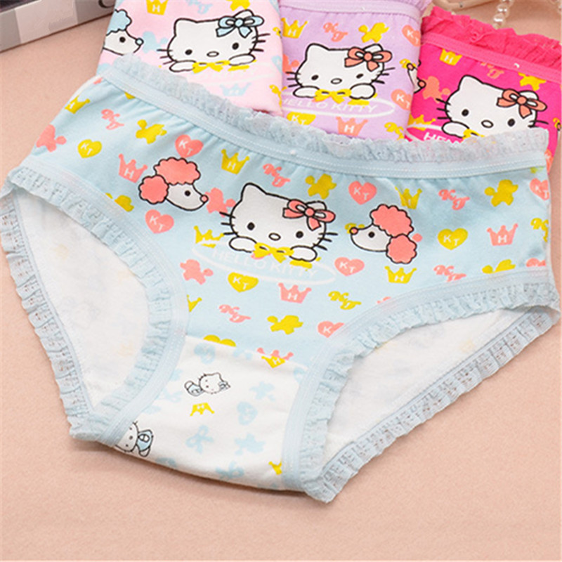 Underwear For Girls Underpants Panties Briefs Short Panties For Girls Calcinha Infantile Child's Kids Children H1068-4P 4p/lot