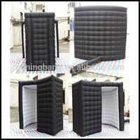 Бесплатная доставка 2,5 м * 2,5 м * 2,5 м дешевые надувные фото надувная палатка 3D фото стенд для рекламы