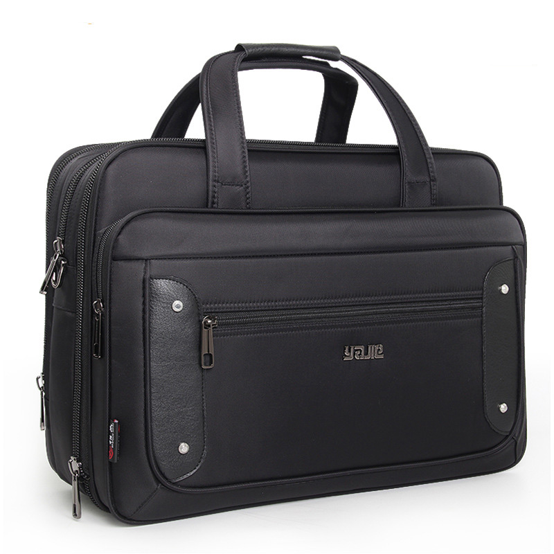 Business Briefcase 15.6 Inch Laptop Bag Handbag Men's Bag Oxford Cloth Large Capacity Handbags High Quality Shoulder Bags