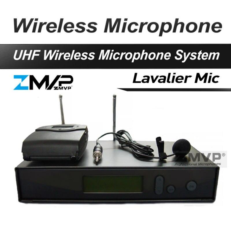 Top Quality 322 G2 Professional UHF Wireless Microphone Wireless System With BodyPack Transmitter Lapel Lavalier Clip mic freeboss ku 22h2 uhf wireless microphone system dj karaoke 2 lapel 2 headset microphone 2 bodypack transmitter
