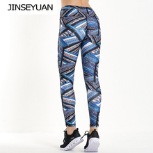 High Waist Printed Yoga Pants Women Push Up Professional Running Fitness Gym Sports Leggings Sexy