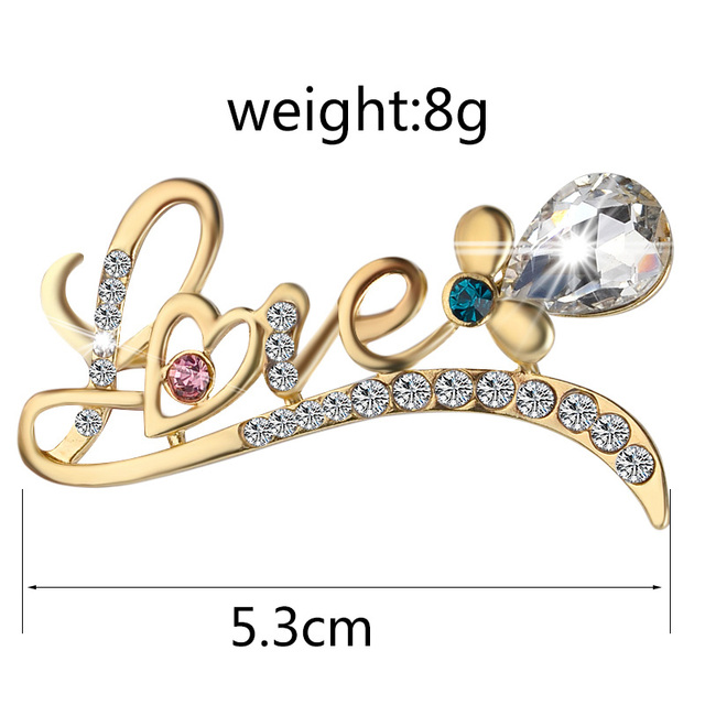 crystal rabbit pins brooches butterfly French lady pin full rhinestone dancing girl broches Mask umbrella pin Peacock feather