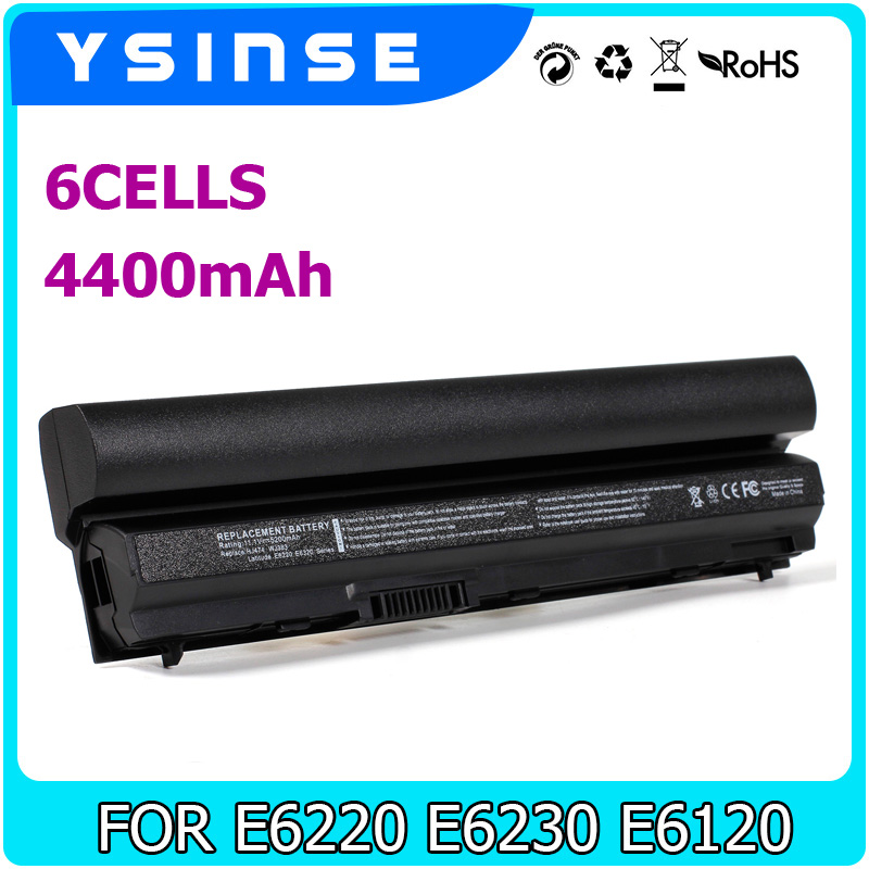 YSINSE Laptop Battery FOR DELL Latitude E6220 E6120 E6320 E6430S E6230 K4CP5 K94X6 KFHT8 MHPKF 09K6P F33MF F7W7V FHHVX FN3PT 2 pin disc ceramic capacitor set blue 6 pcs