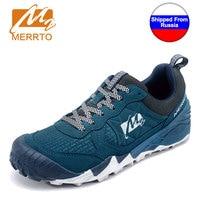 Shipped From Russia MERRTO Outdoor Cowhide Men S Hiking Shoes Multi Fundtion Waterproof Walking Sneakers Wear