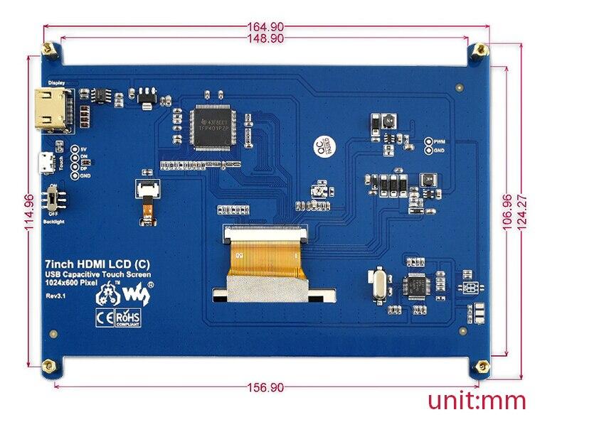 شاشة HDMI (C) ، 6