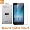 Xiaomi redmi note 2 original del 100% a prueba de explosiones de vidrio templado protector de pantalla de cine para xiaomi redmi note 2 prime teléfono