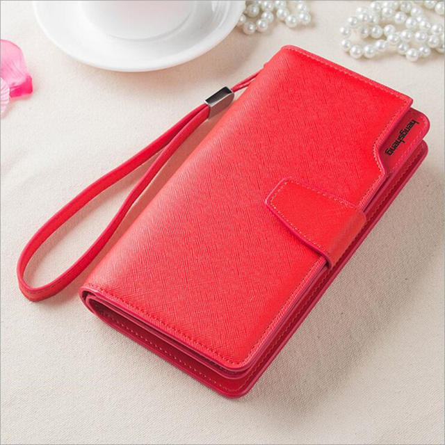 Women's Clutch Wallet With Strap