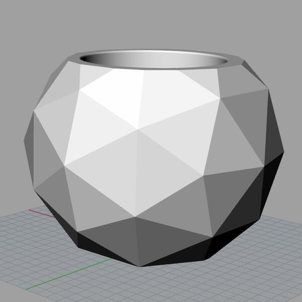 Силиконовый конкретные формы цемента больше геодезический Сфера Средний многоразовые свечи конкретные формы держатель плесень ваза формы...