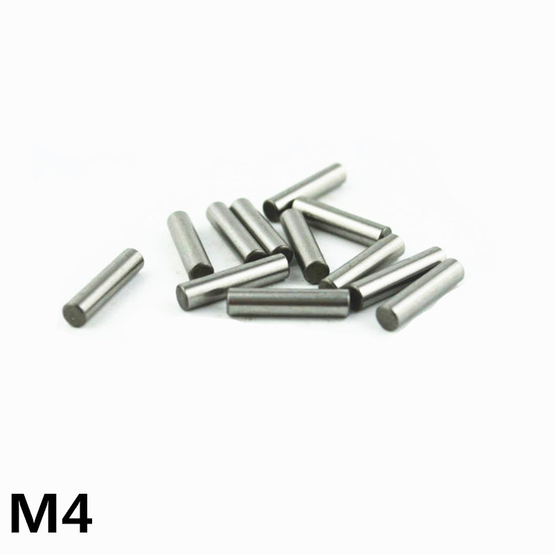 100pcs 4 Mm Bearing Steel Cylindrical Pin Locating Pin Needle Roller Thimble Length 4 5 6 8 10 12 14 15 16 17 18 20 22 24-50 Mm